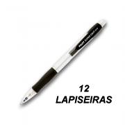 Lapiseira 0,5 mm Super Grip Preta 12 und Pilot