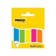 Marcador de Página 12x45 mm 5 Cores Pimaco