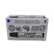 Marcador Permanente Azul 6 und Super Canettão Radex