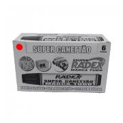 Marcador Permanente Vermelho 6 und Super Canettão Radex