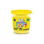 Massinha de Modelar Art Kids Soft 150g Amarelo Limão Acrilex