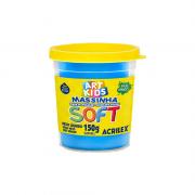 Massinha de Modelar Art Kids Soft 150g Azul Acrilex
