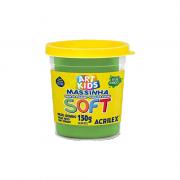 Massinha de Modelar Art Kids Soft 150g Verde Acrilex
