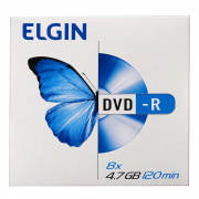 Mídia DVD-R 4.7Gb/ 120 min 16x Elgin