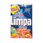 Pano Multiuso Azul 5 und Gota Limpa