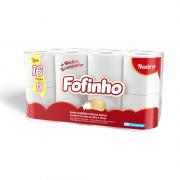 Papel Higiênico Folha Dupla 30m com 16 Rolos Fofinho Canoinhas