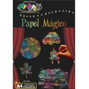 Papel Mágico Multicolor A4 5 Folhas com Bastão Off Paper