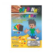 Papel Offpinho Color A4 75g 8 cores 45 folhas Off Paper