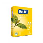 Papel Sulfite A4 Amarelo 75g 500 Folhas Report