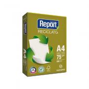 Papel Sulfite A4 Reciclado 75g 500 folhas Reciclato Report