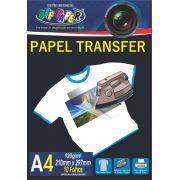 Papel Transfer A4 Tecidos Claros 120g C/ 10 folhas Off Paper