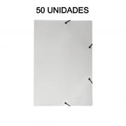 Pasta Aba Elástico Branco 50 Unidades DelloPlex