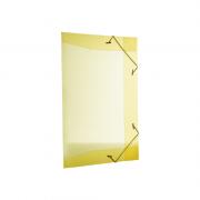 Pasta Aba Elástico Ofício Amarelo Dello Line 50 Unidades