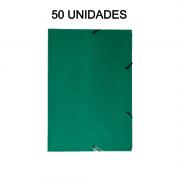 Pasta Aba Elástico Verde 50 Unidades DelloPlex