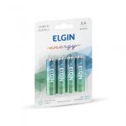 Pilha Alcalina AA 4 und Elgin