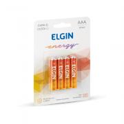 Pilha de Zinco AAA 4 und Elgin