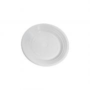 Pratos Descartáveis PS 180mm Branco 1000 Und Copozan