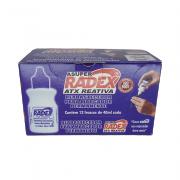 Refil de Marcador Permanente 40mL Azul 12 und Radex