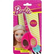 Tesoura 13cm Escolar Assimétrica Barbie Tris
