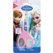 Tesoura 13cm Escolar Assimétrica Frozen Tris