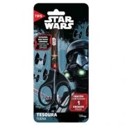 Tesoura 13cm Escolar Assimétrica Star Wars Tris