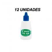 Tinta para Carimbo 42 mL Azul 12 und Pilot