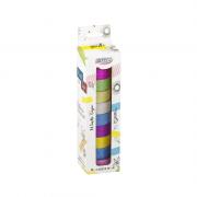 Washi Tape Glitter 10 Unidades BRW