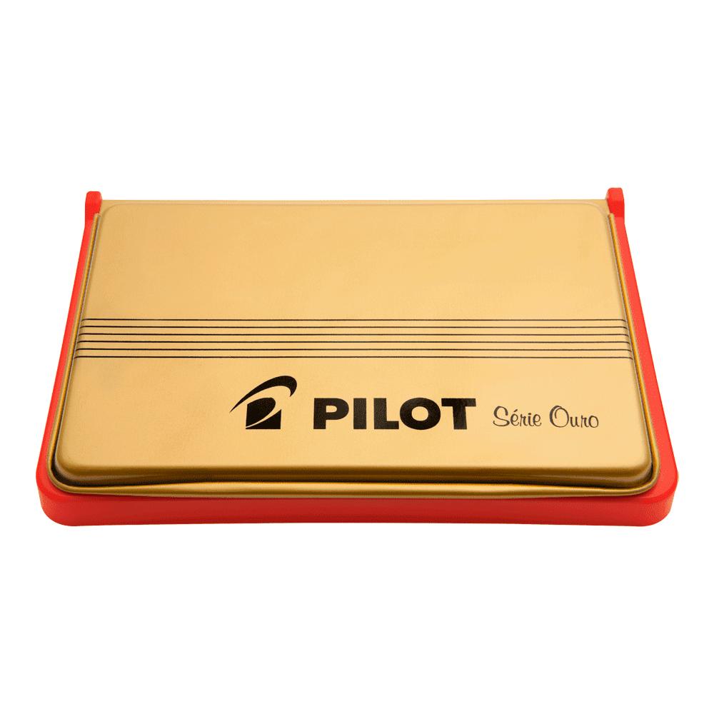 Almofada para Carimbo N° 3 Vermelho Pilot