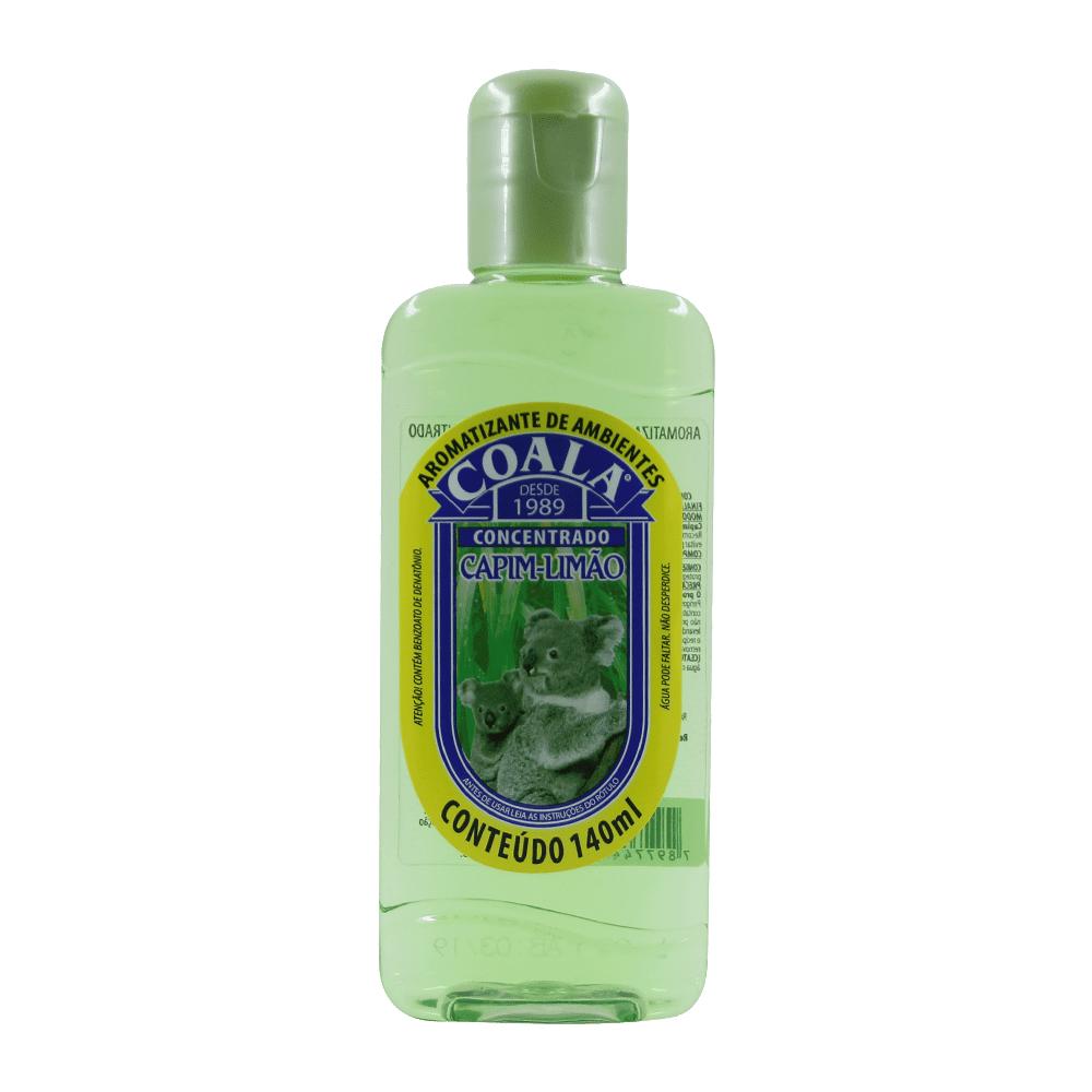 Aromatizante Líquido 140 ml Capim Limão Coala