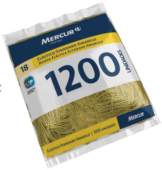 Elástico Nº18 Standart Pacote Com 1200 und Mercur