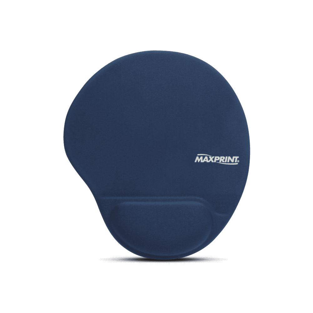 Base para Mouse com Apoio em Gel Azul Maxprint