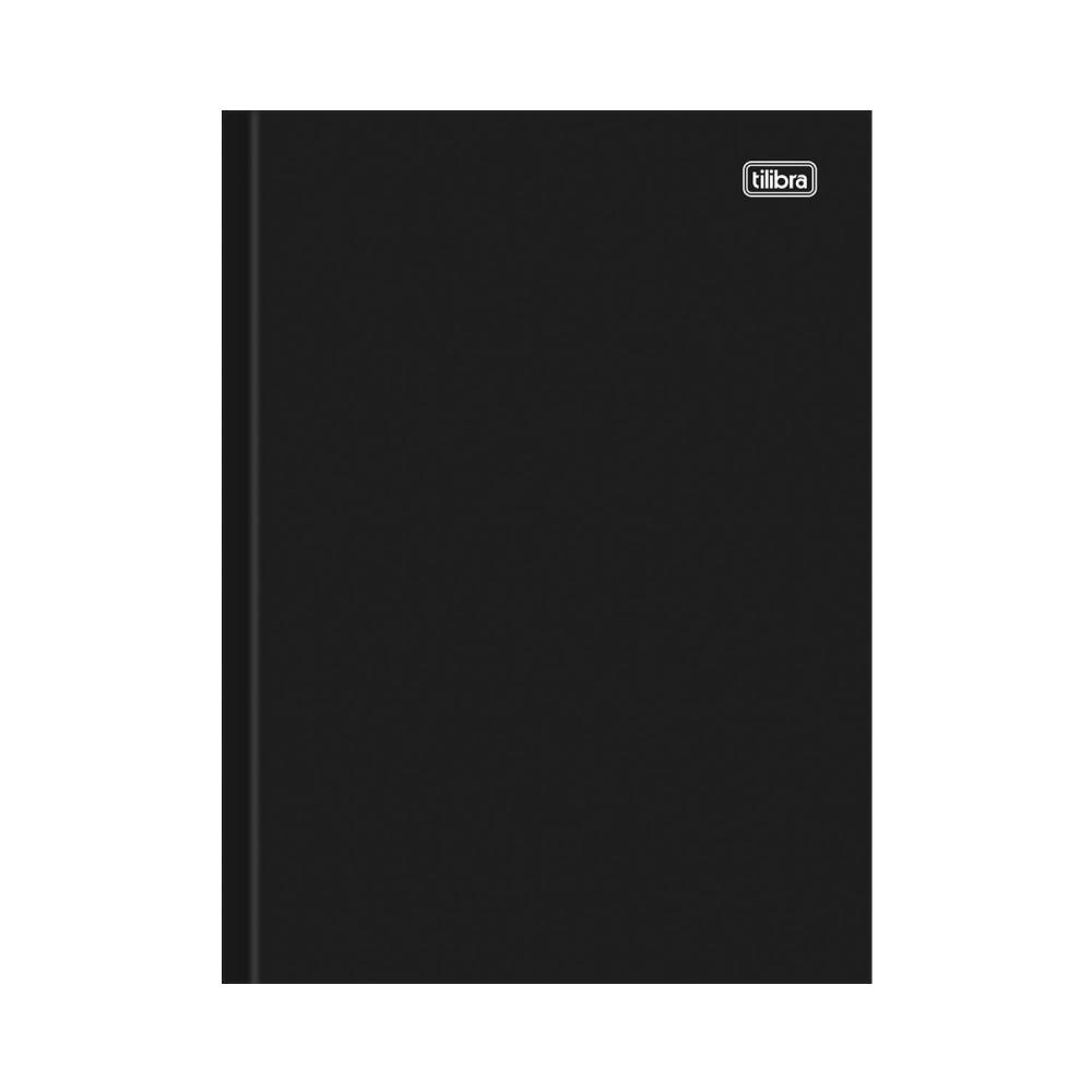Caderno Brochura Capa Dura Universitário Folhas Numeradas Pepper 200 Folhas Tilibra