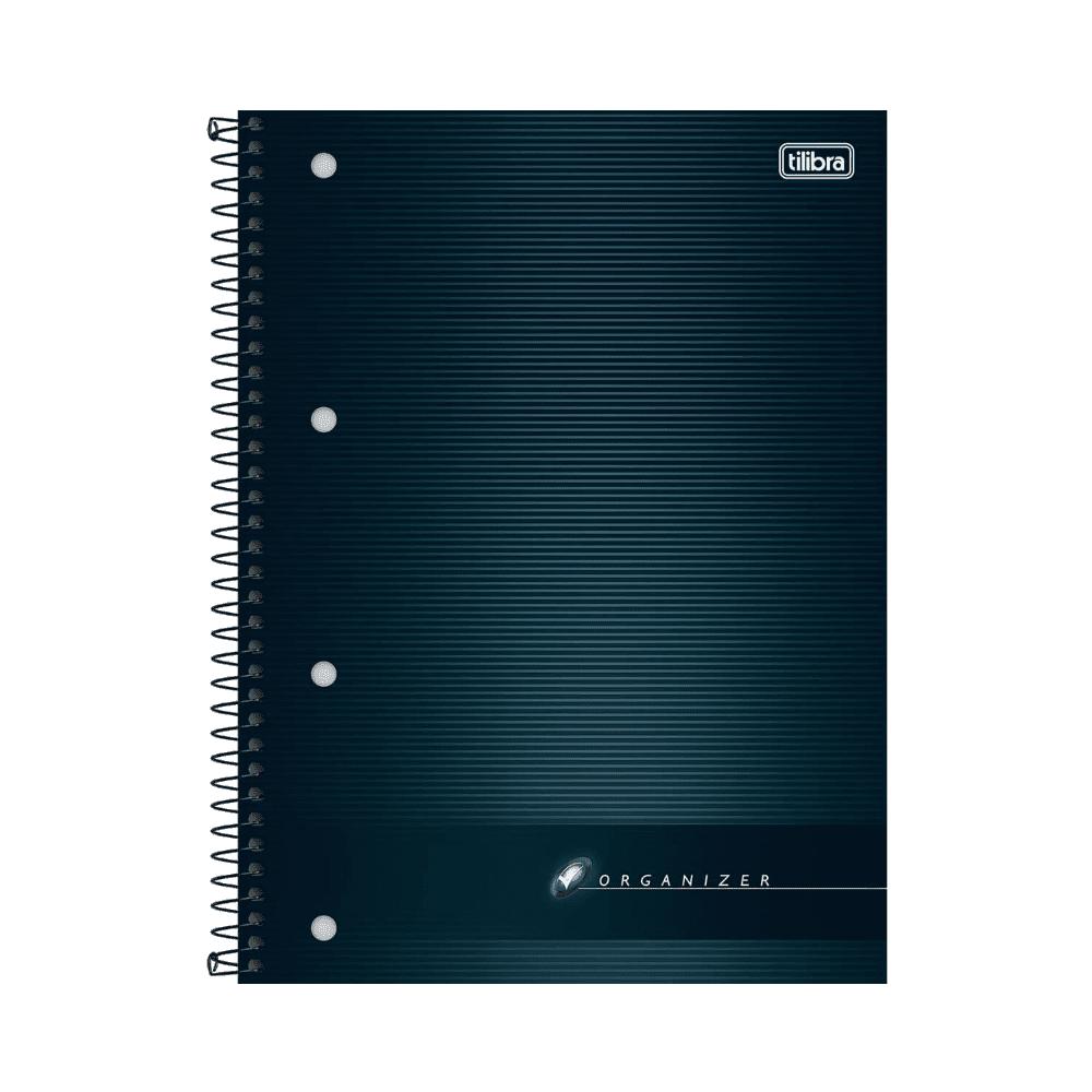 Caderno Executivo Espiral Capa Dura Universitário Organizer 100 Folhas Tilibra