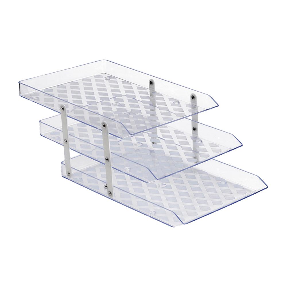 Caixa de Correspondência Tripla Móvel Cristal Waleu