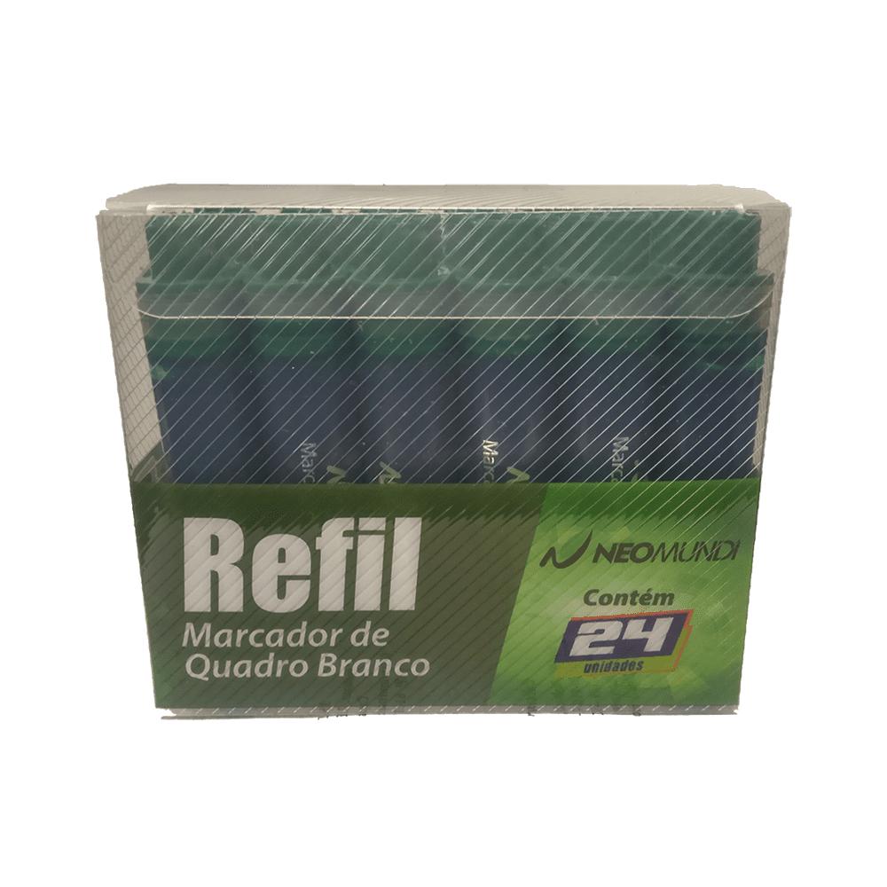 Caixa Refil Marcador Quadro Branco Verde 24 und NeoMundi