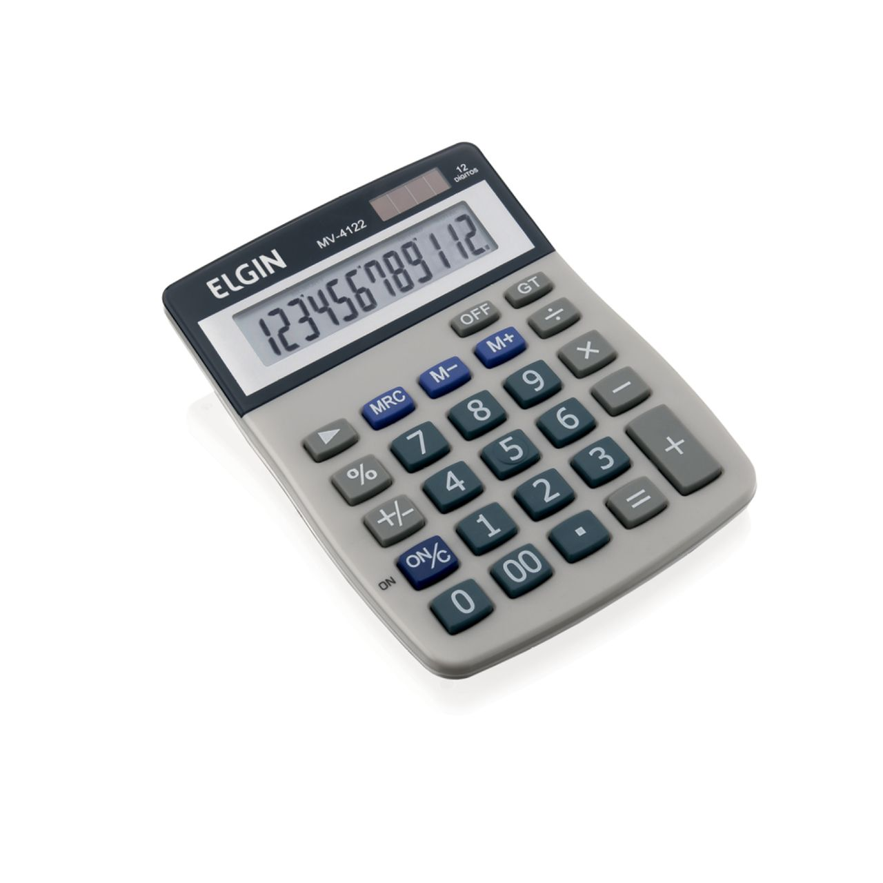 Calculadora de Mesa 12 Dígitos MV 4122 Elgin