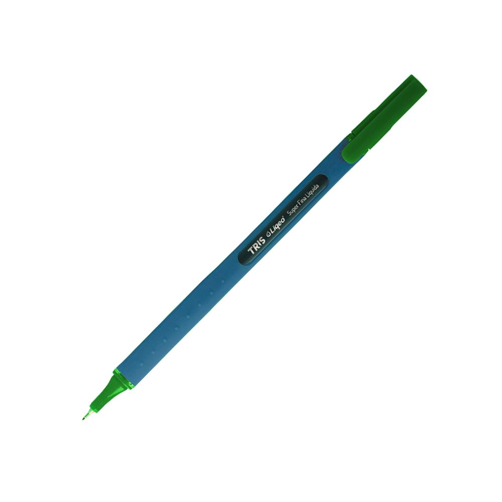 Caneta 0.4mm Verde Liqeo Tris