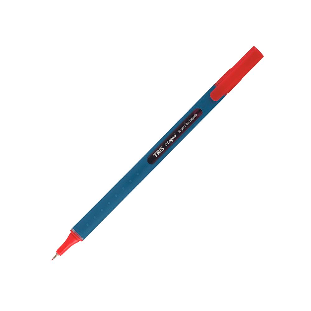 Caneta 0.4mm Vermelho Liqeo Tris