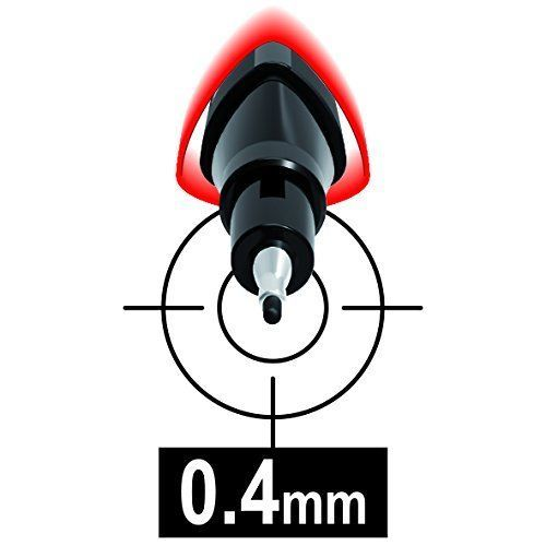 Caneta Fineliner Graph'Peps Ponta de 0,4mm 15 Cores Maped