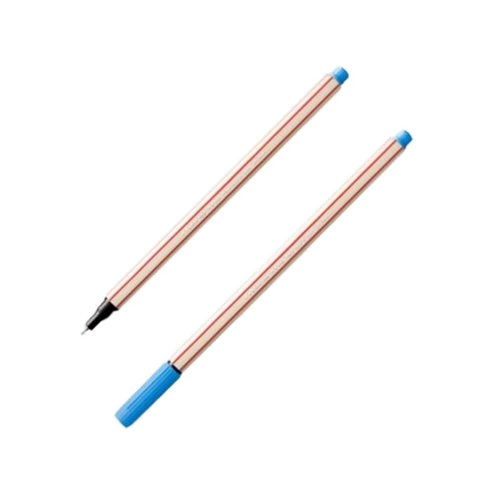 Caneta Microline 0.4mm Azul Claro Compactor