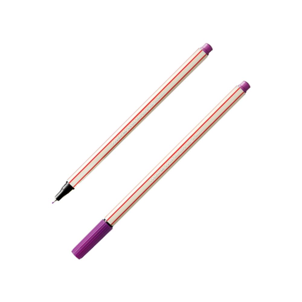 Caneta Microline 0.4mm Violeta Compactor
