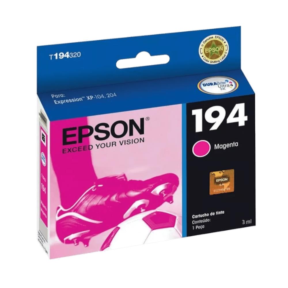 Cartucho de Tinta 194 Magenta 3ml Epson