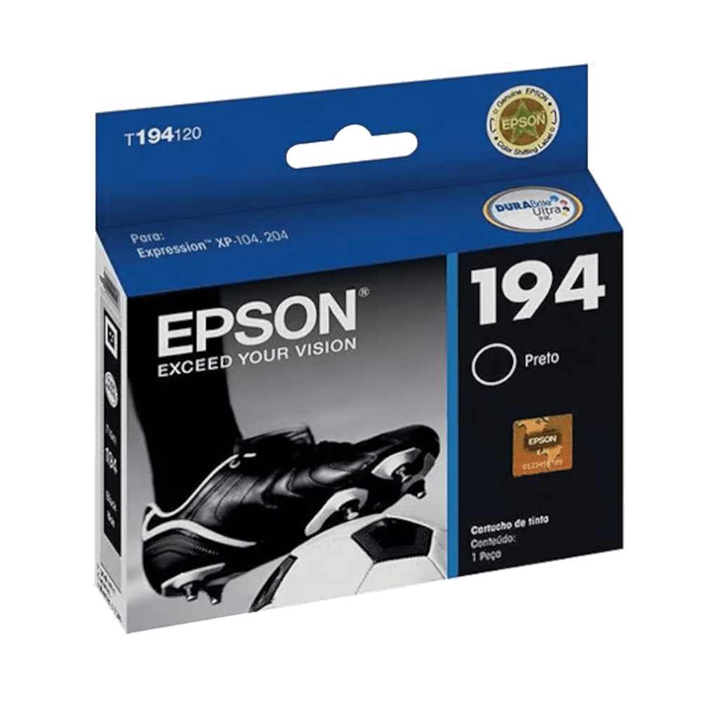 Cartucho de Tinta 194 Preto 4ml Epson