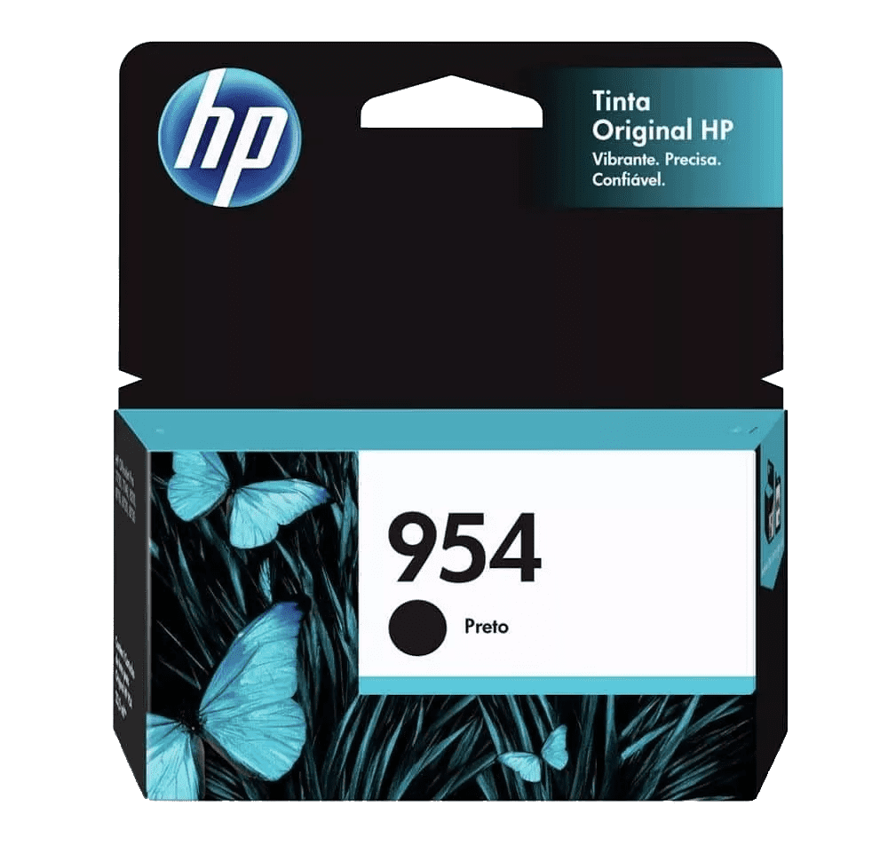 Cartucho de Tinta 954 Preto 23,5ml HP