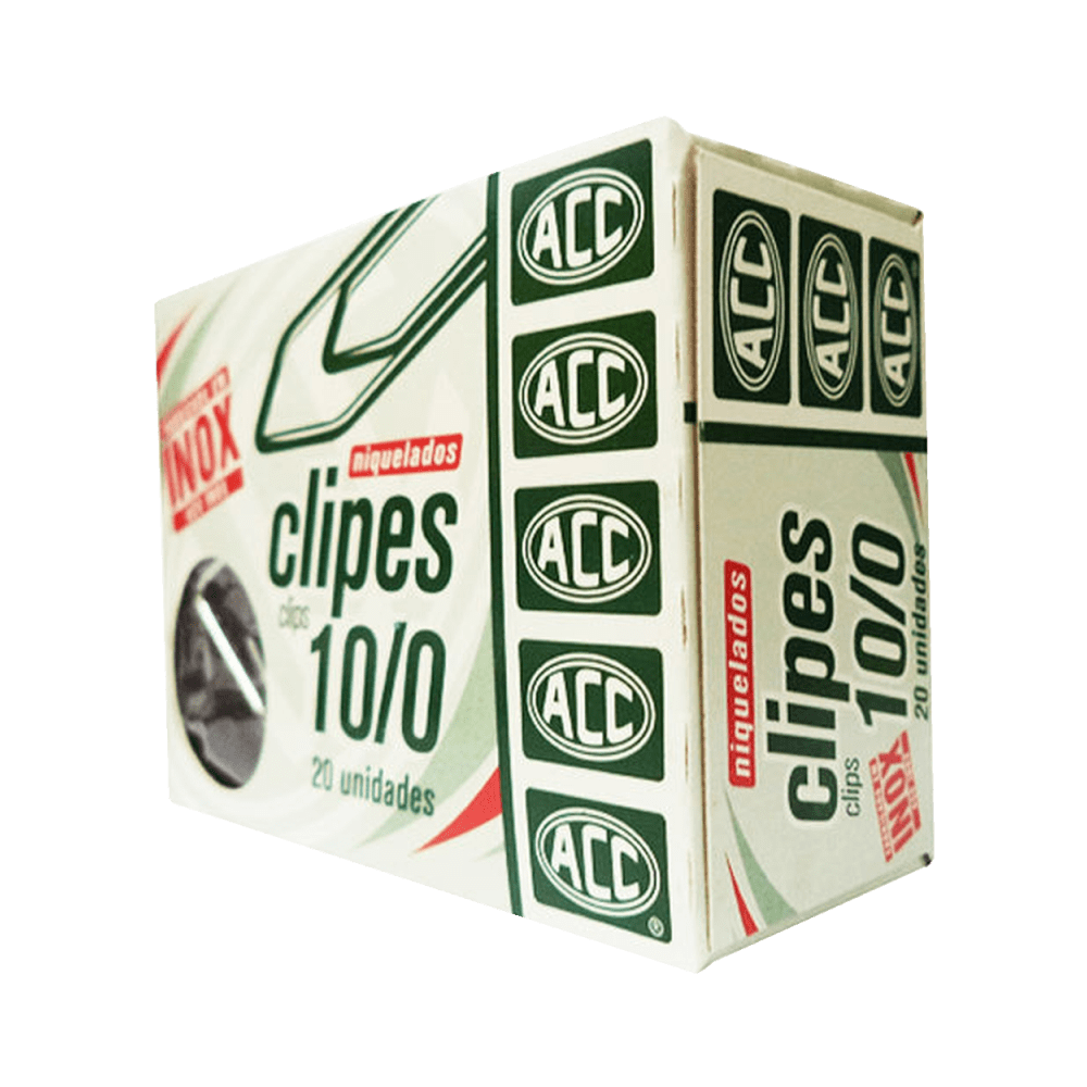 Clipes Galvanizado 10/0 20 Unidades ACC