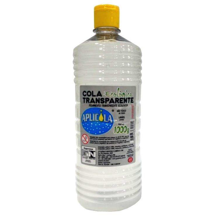 Cola Transparente Ecológica Aplicola 1000gr GR Quimica c/ 12