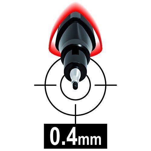 Caneta Fineliner Graph'Peps Ponta de 0,4mm 10 Cores Maped