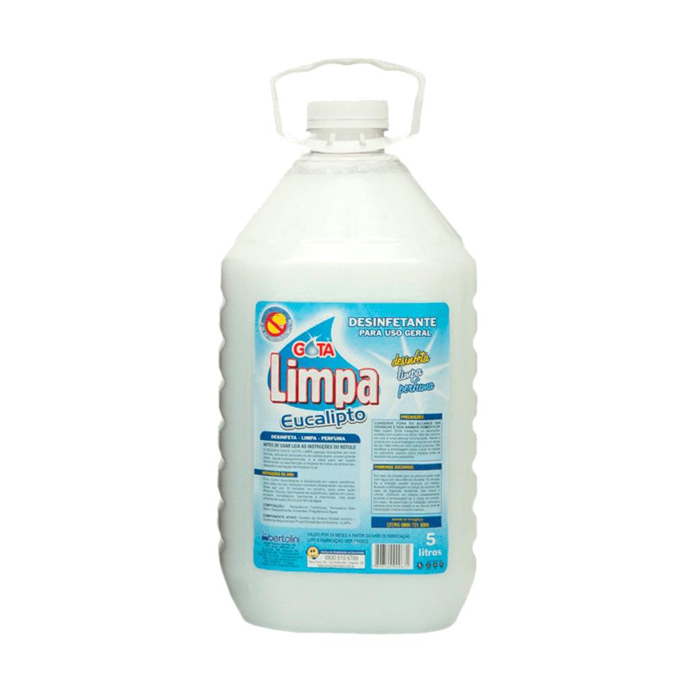 Desinfetante Multiuso 5L Eucalipto Gota Limpa