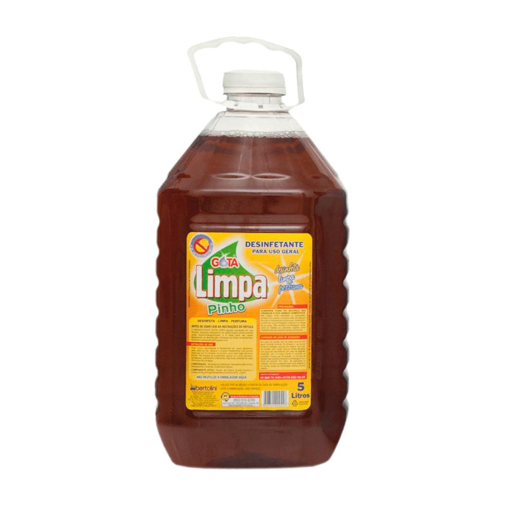 Desinfetante Multiuso 5L Pinho Gota Limpa