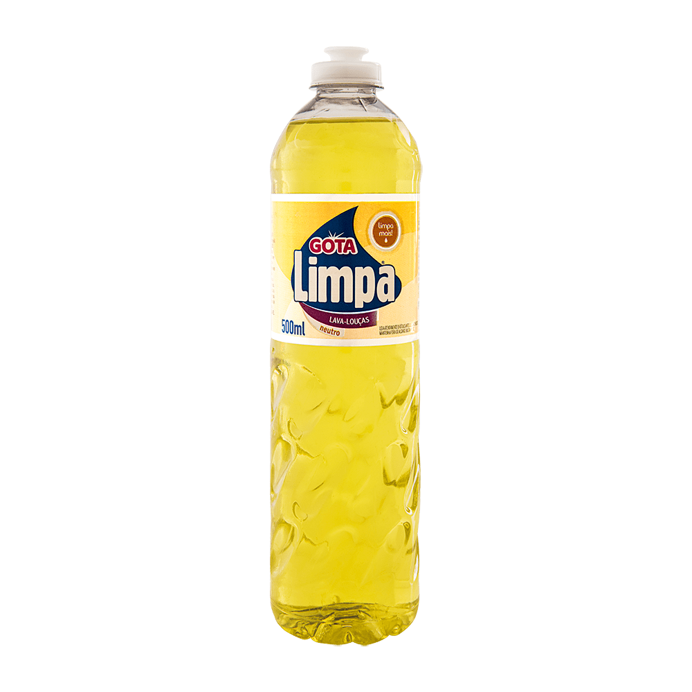 Detergente de Louça 500mL Neutro 24 und Gota Limpa